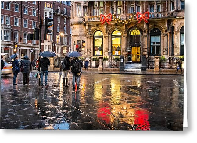 Reflections Of London Greeting Card