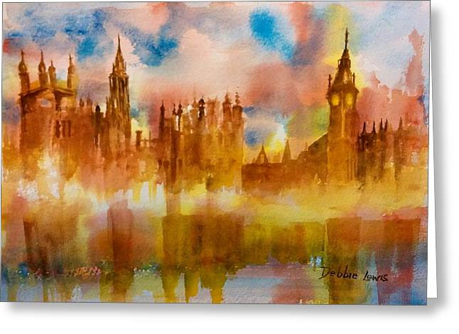 London Rising Greeting Card