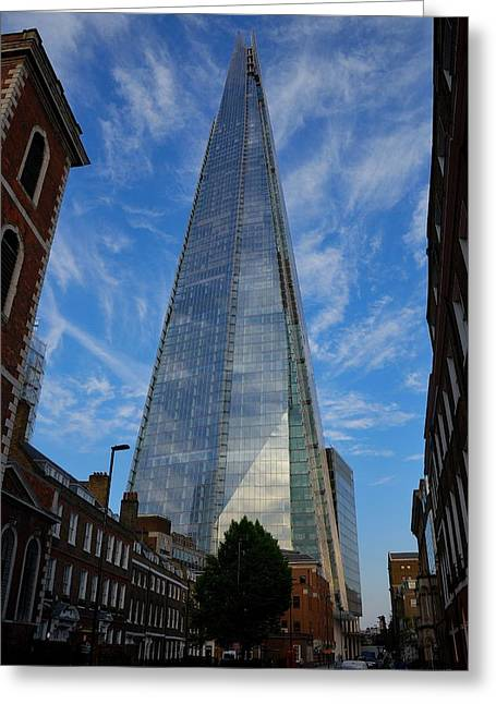 London The Shard Greeting Card by Steven Richman