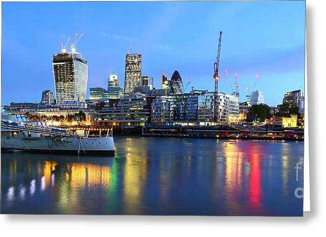 London View Greeting Card by Mariusz Czajkowski