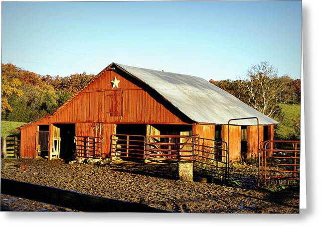 Lone Star Barn Greeting Card