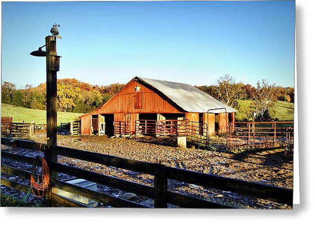 Lone Star Barn II Greeting Card