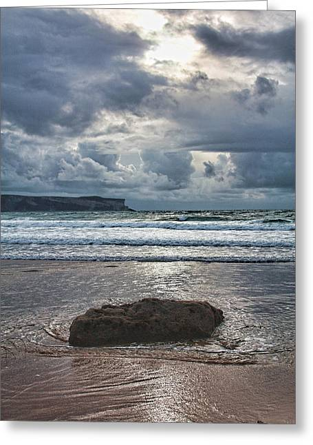 Lone Stone Greeting Card