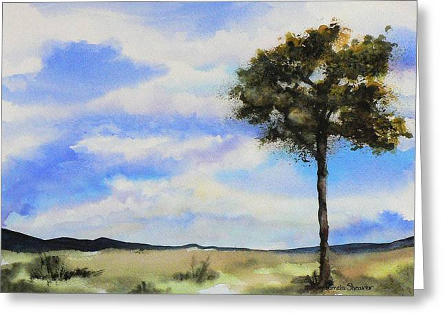 Lone Tree Colorado Greeting Card