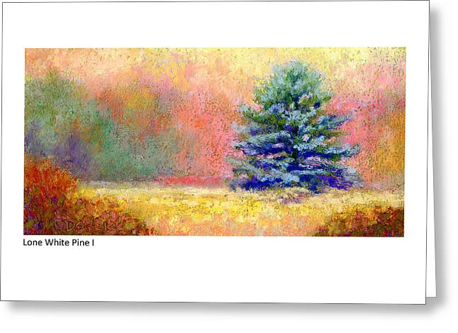 Lone White Pine I Greeting Card