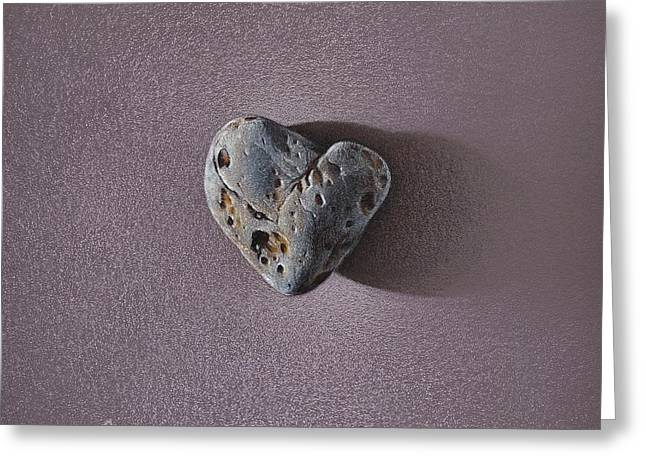 Lonely Heart Greeting Card by Elena Kolotusha