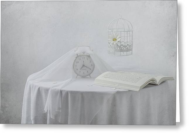 Lonely Hours... Greeting Card