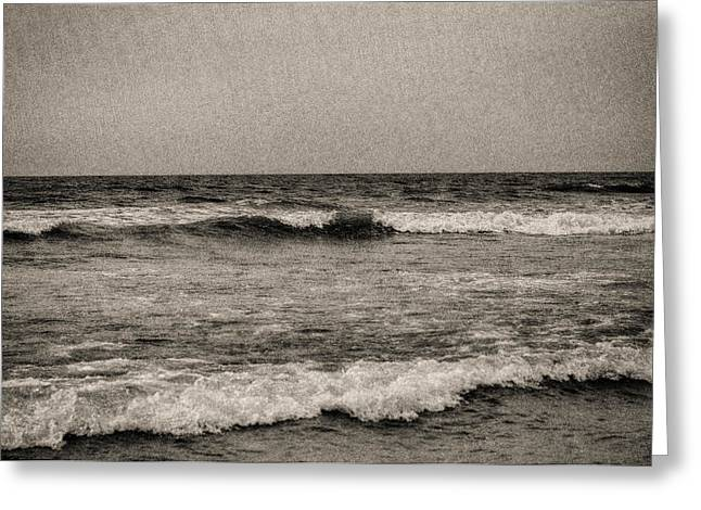 Lonely Ocean Greeting Card by J Riley Johnson