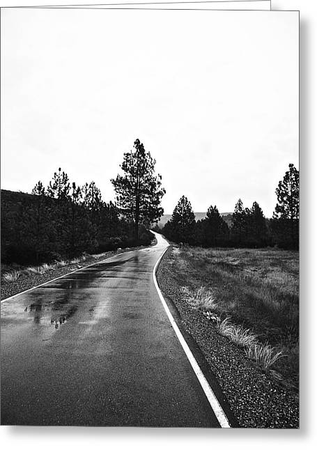 Lonesome Highway No. 2 Greeting Card