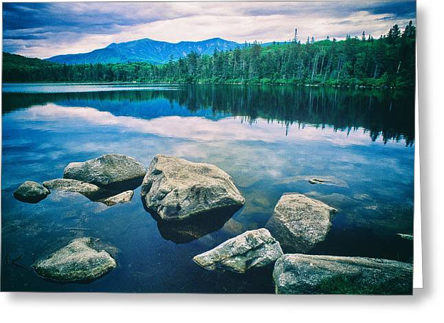 Lonesome Lake Nh Greeting Card