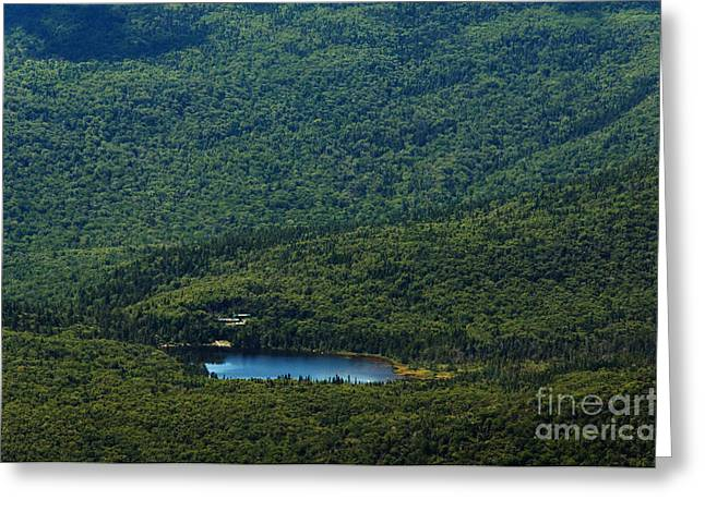 Lonesome Lake Greeting Card