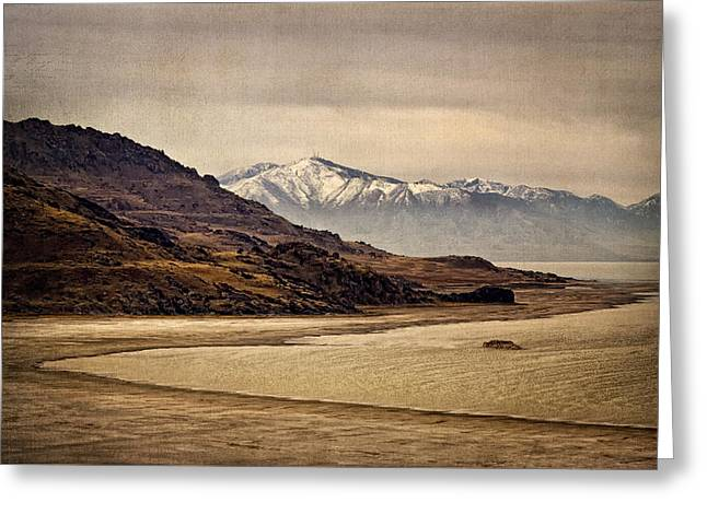 Greeting Card featuring the photograph Lonesome Land by Priscilla Burgers