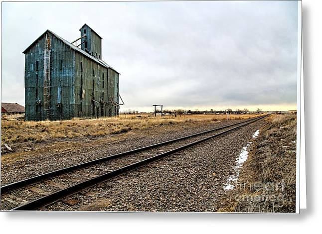 Lonesome Road Greeting Card by Jon Burch Photography