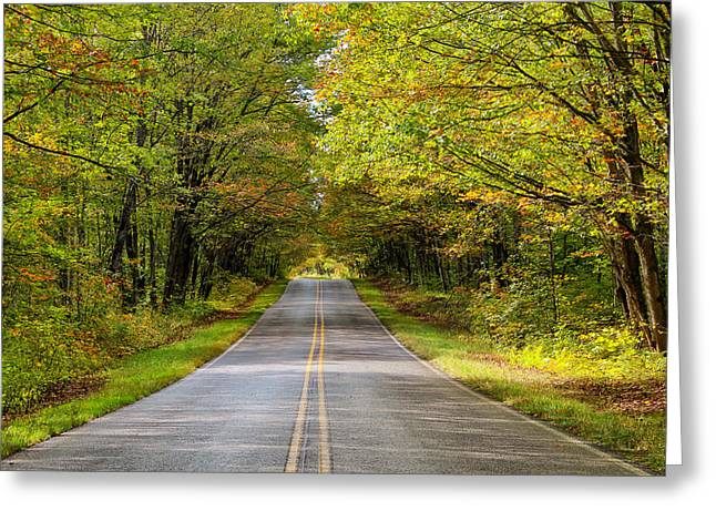 Long And Winding Road   2 Greeting Card