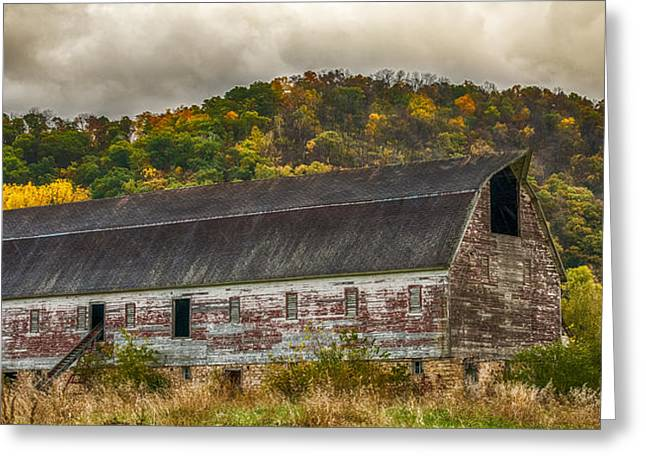 Long Barn Greeting Card by Paul Freidlund