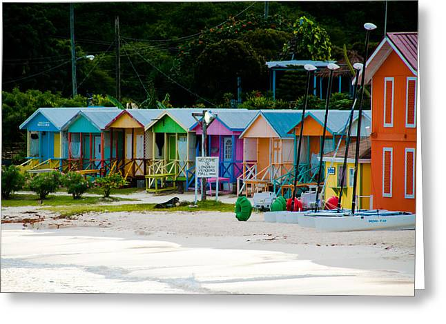 Long Bay Beach Shops Greeting Card