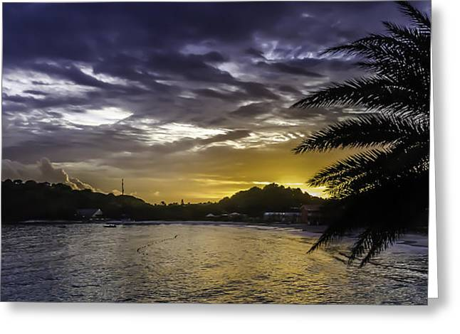 Long Bay Sunrise 1 Greeting Card