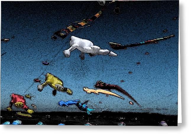Long Beach Kites 2012 Greeting Card