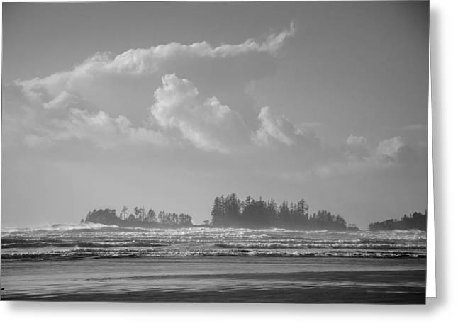 Long Beach Landscape  Greeting Card