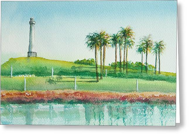 Long Beach Lighthouse Greeting Card