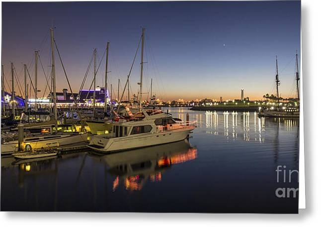Long Beach Greeting Card