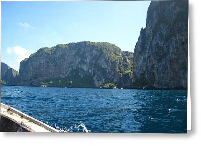 Long Boat Tour - Phi Phi Island - 0113127 Greeting Card by DC Photographer