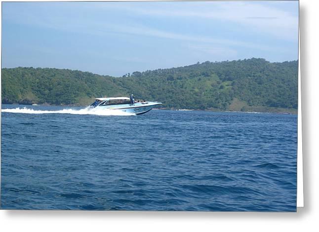 Long Boat Tour - Phi Phi Island - 0113165 Greeting Card