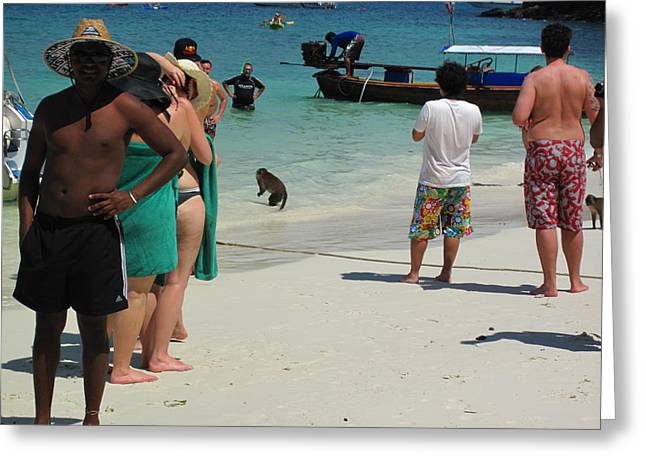 Long Boat Tour - Phi Phi Island - 0113180 Greeting Card by DC Photographer