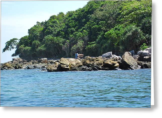 Long Boat Tour - Phi Phi Island - 0113199 Greeting Card by DC Photographer