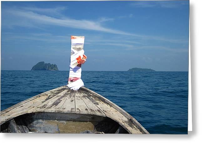 Long Boat Tour - Phi Phi Island - 0113200 Greeting Card