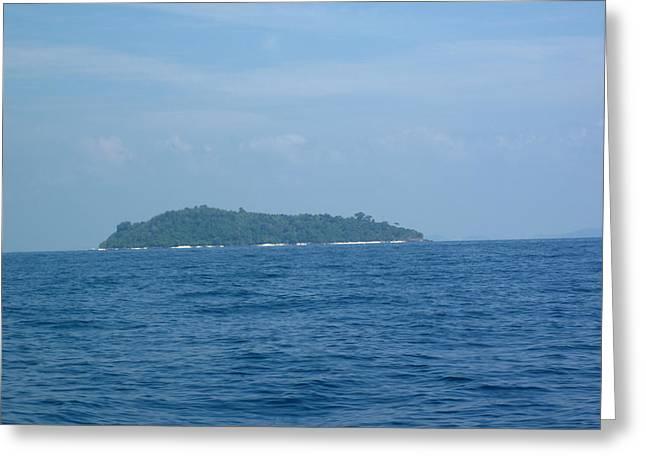 Long Boat Tour - Phi Phi Island - 0113202 Greeting Card