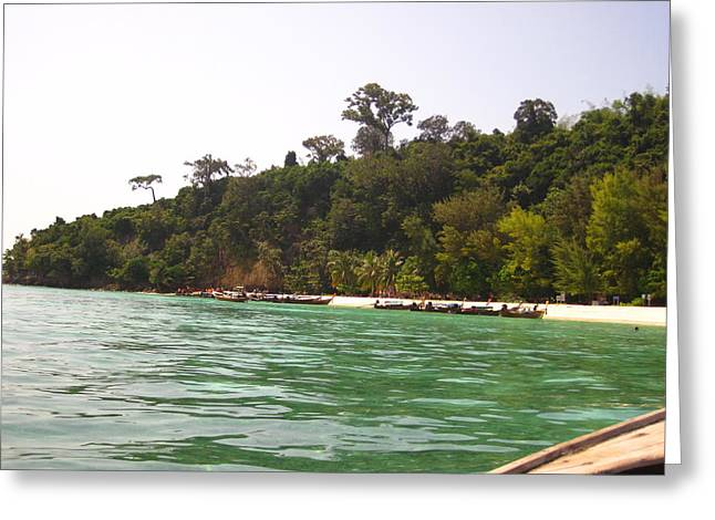 Long Boat Tour - Phi Phi Island - 0113216 Greeting Card by DC Photographer