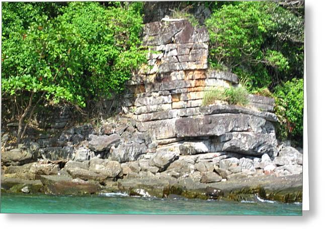 Long Boat Tour - Phi Phi Island - 0113265 Greeting Card