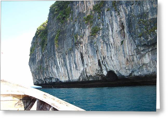 Long Boat Tour - Phi Phi Island - 011391 Greeting Card by DC Photographer