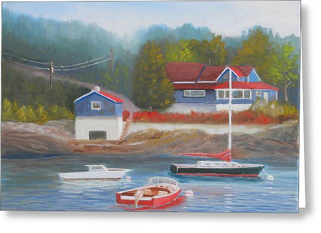 Long Cove Greeting Card