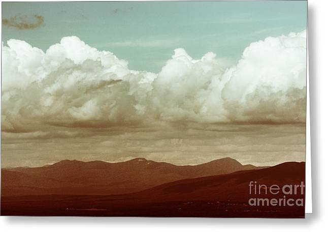 Greeting Card featuring the photograph Long Horizon by Dana DiPasquale