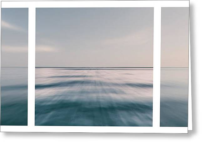 Long Island Sound Greeting Card by Sabine Jacobs
