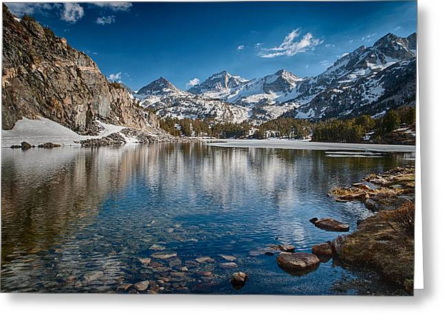 Long Lake Greeting Card by Cat Connor
