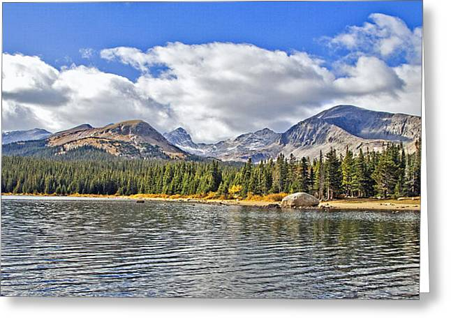 Long Lake Colorado Greeting Card