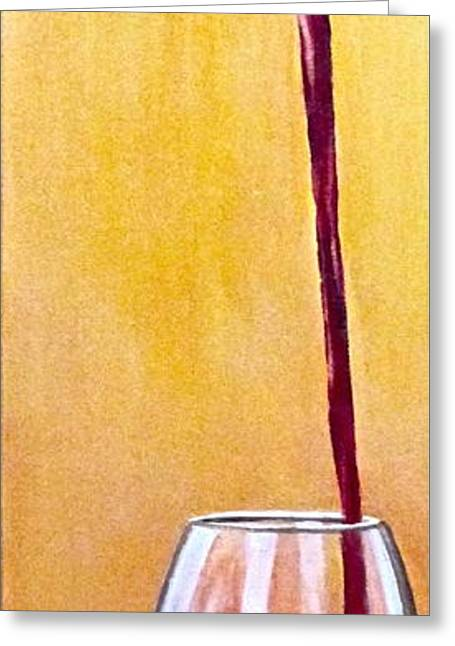Long Pour Greeting Card by Tim Eickmeier