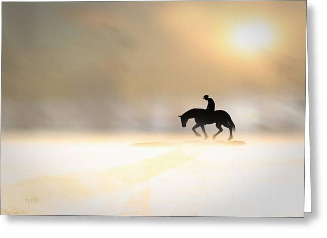 Long Ride Home Greeting Card by Bob Orsillo