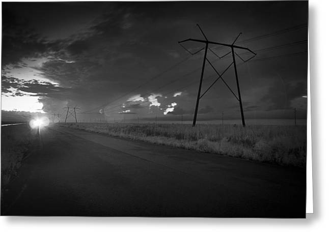 Long Road Home Greeting Card by Bradley R Youngberg