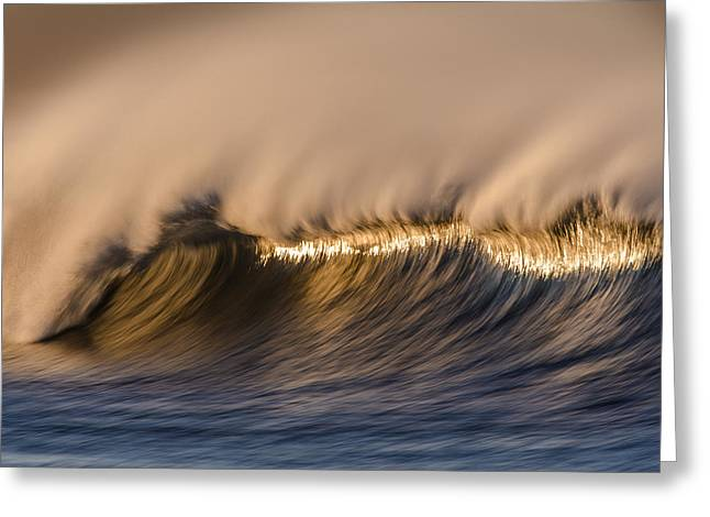 Long Windy Crest  73a0468 Greeting Card