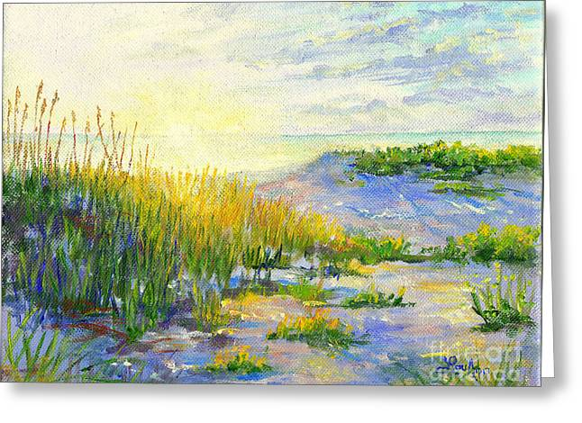 Longboat Key  Sunset Greeting Card