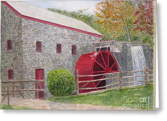 Longfellow's Gristmill Greeting Card