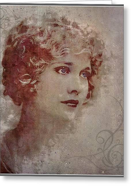 Longing... Greeting Card by Marie  Gale