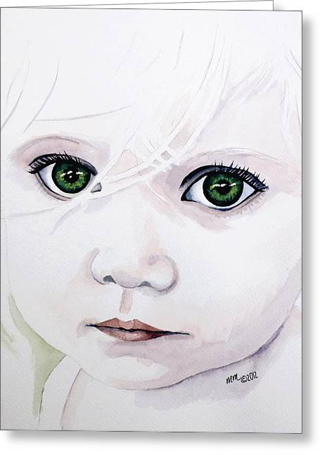 Longing Eyes Greeting Card