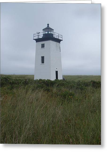 Longpoint Lighthouse Greeting Card