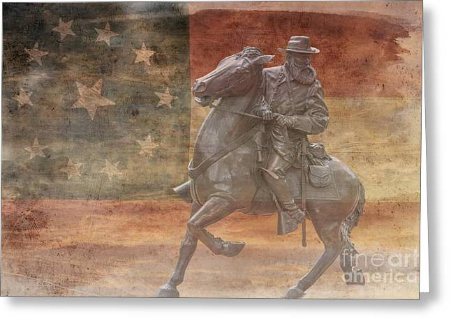 Longstreet  Greeting Card by Randy Steele