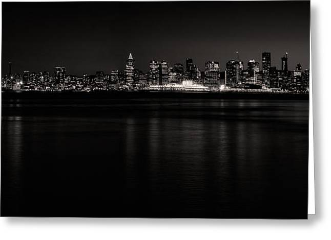 Lonsdale Views In Black And White Greeting Card by Monte Arnold